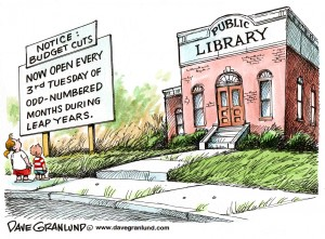 Sutton Council - making savings from its Library services budget