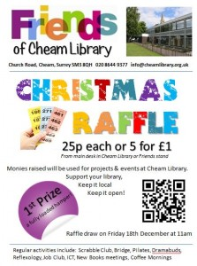 Friends of Cheam Library Christmas Raffle